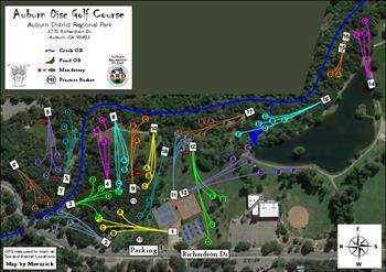 Auburn Regional Park DGC image